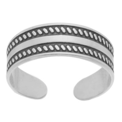 Itsy Bitsy Toe Ring Sterling Silver Toe Ring
