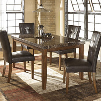 Signature Design By Ashley Lacey Dining Room Table Jcpenney Color Md Brown