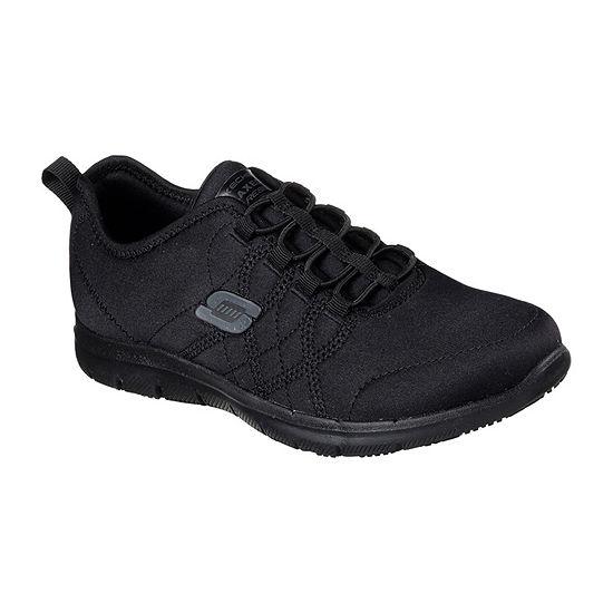 Skechers Srelt Womens Walking Shoes Lace-up