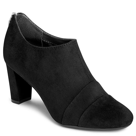 A2 by Aerosoles Womens Sixth Avenue Zip Closed Toe Booties