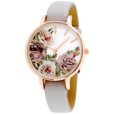Womens Multicolor Band Watch-In6028rg840-078