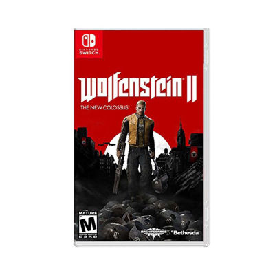 Nintendo Switch Wolfenstein II: The New Colossus Video Game