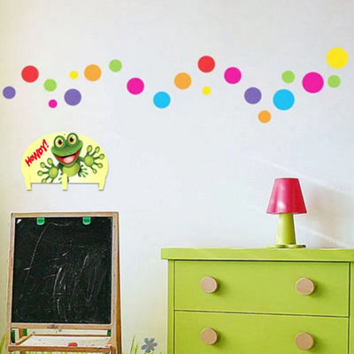 Kids Coat Rack Wall Mounted Frog Howdy Three HookCoat Rack