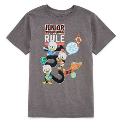 Disney Duck Tales Graphic T-Shirt-Big Kid Boys