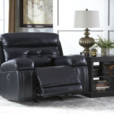 Signature Design By Ashley® Graford Leather Power Recliner