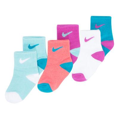 Nike 6 Pair Crew Socks