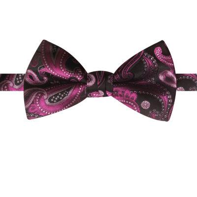 Susan G Komen Paisley Bow Tie