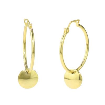 Sechic 14K Gold 26mm Hoop Earrings