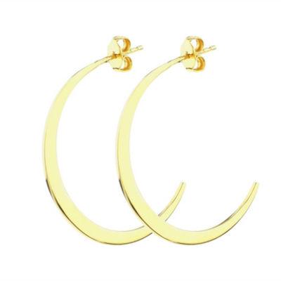 Sechic 14K Gold 29mm Hoop Earrings