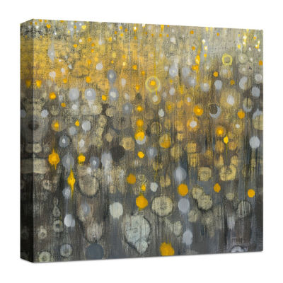 Rain Abstract Vi Canvas Art