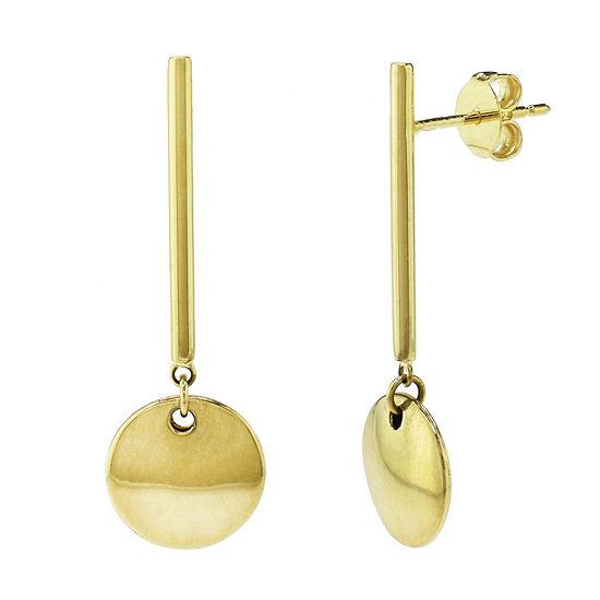 Sechic 14K Gold Drop Earrings