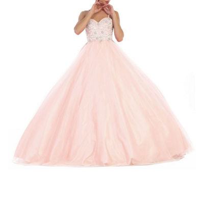 Formal Beaded Ball Gown - Juniors