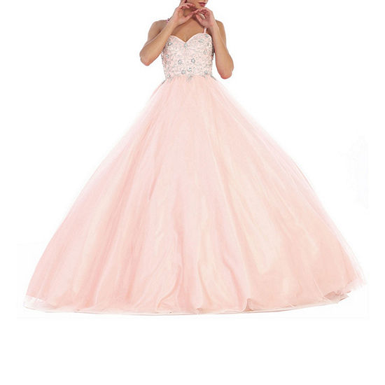 Formal Beaded Ball Gown Juniors Jcpenney