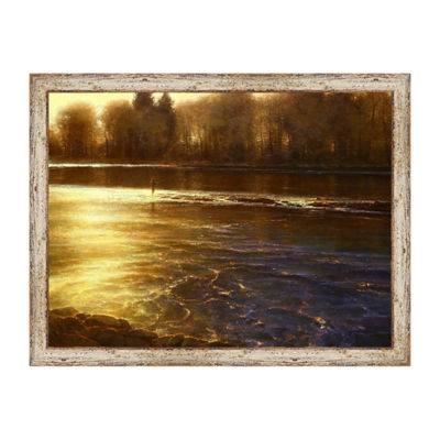 Symphony Of The River Framed Print