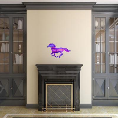 Flamboyant Running Horse