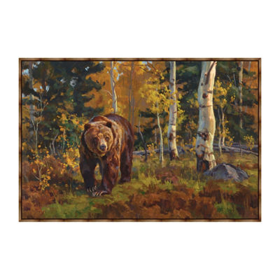 Aspen Heights Framed Canvas Art