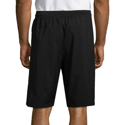 adidas Mens Elastic Waist Workout Shorts