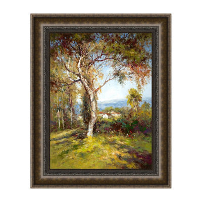 Mediterranean Light Framed Print