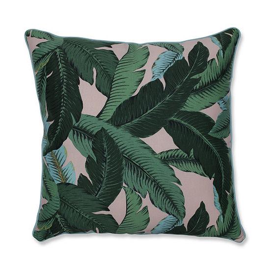 Pillow Perfect Swaying Palms Capri 25-Inch Outdoor Floor Pillow