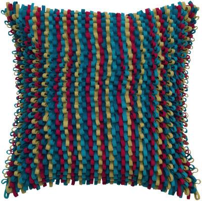 Rizzy Home Ace Stripe Decorative Pillow