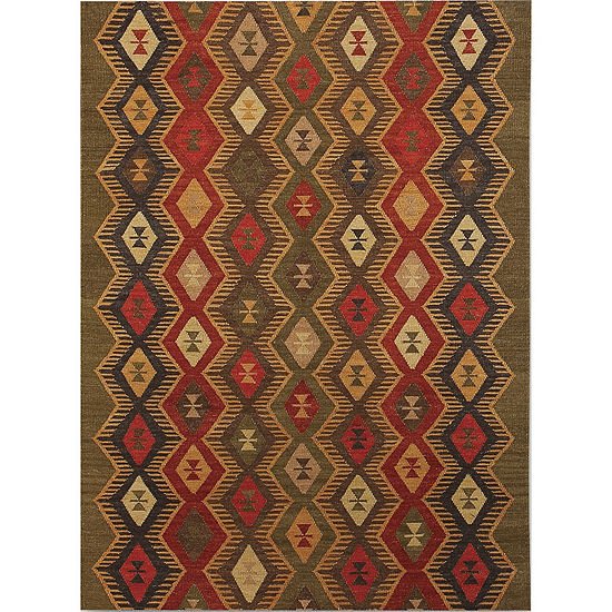 Amer Rugs Makamani AA6 Flat-Weave Wool Rug