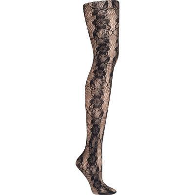 Hanes Fashion Lace Tights