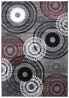 World Rug Gallery Contemporary Circles Rug Collection