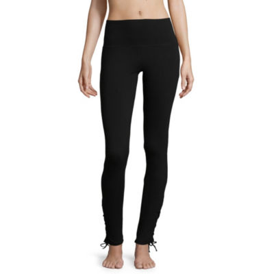 Flirtitude Lace Up Leggings - Juniors