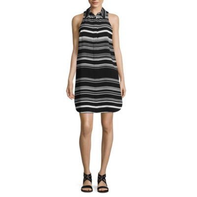 Spense Sleeveless Shirt Dress