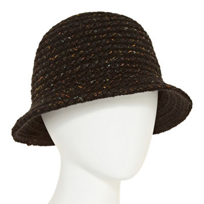 August Hat Co. Inc. Knit Braid Cloche Hat