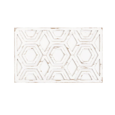 INK + IVY Ralston Patterned Wooden Wall Art