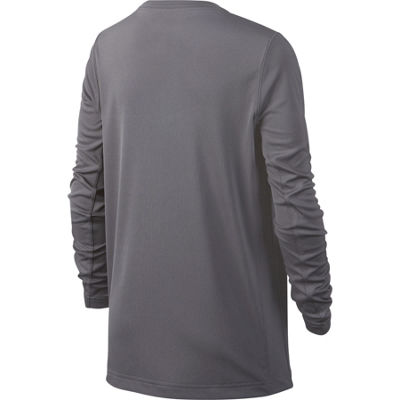 Nike Long Sleeve Crew Neck T-Shirt-Big Kid Boys