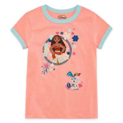 Disney Moana Graphic T-Shirt-Preschool Girls