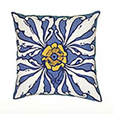 Rizzy Home Bowle Geometric Decorative Pillow