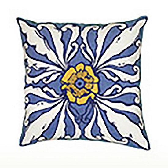 Rizzy Home Bowle Geometric Decorative Pillow