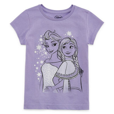 Disney Frozen Graphic T-Shirt-Preschool Girls