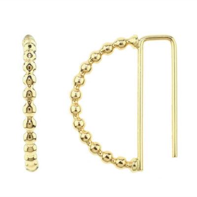 Sechic 14K Gold 20mm Hoop Earrings