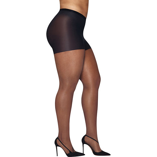 Hanes Silky Sheer Tights-Plus
