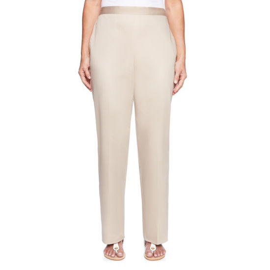 Alfred Dunner Scottsdale Classic Fit Woven Pull-On Pants