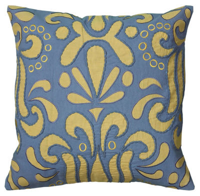 Rizzy Home Sage Geometric Decorative Pillow