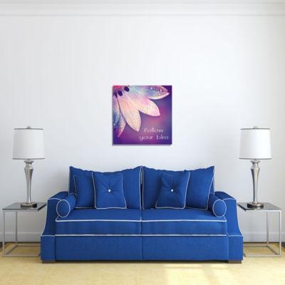 Motivational Wall Art Follow Your Bliss Wall DecorPanel