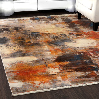 Home Dynamix Rutherford Ascensa Abstract Rectangular Rug