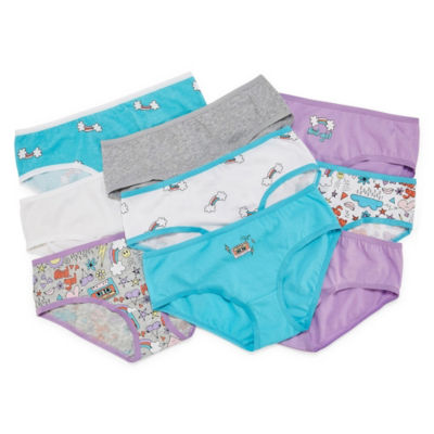 Arizona 9pk Hipster 9 Pair Hipster Panty Girls