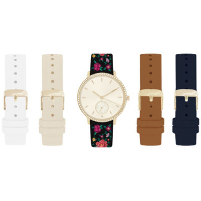 Womens Multicolor Band Watch-In6017g840-078