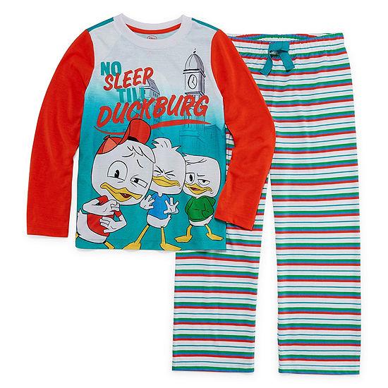 Disney 2-pc. Duck Tales Pajama Set Preschool Boys