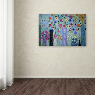 Trademark Fine Art Carrie Schmitt Magical Giclee Canvas Art