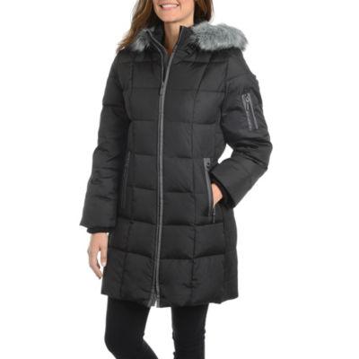 Fleetstreet Collection Woven Water Resistant Heavyweight Puffer Jacket