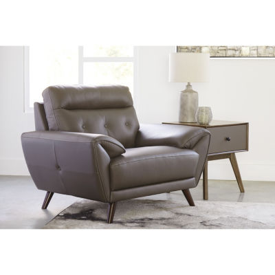 Signature Design By Ashley® Sissoko Leather Accent Chair