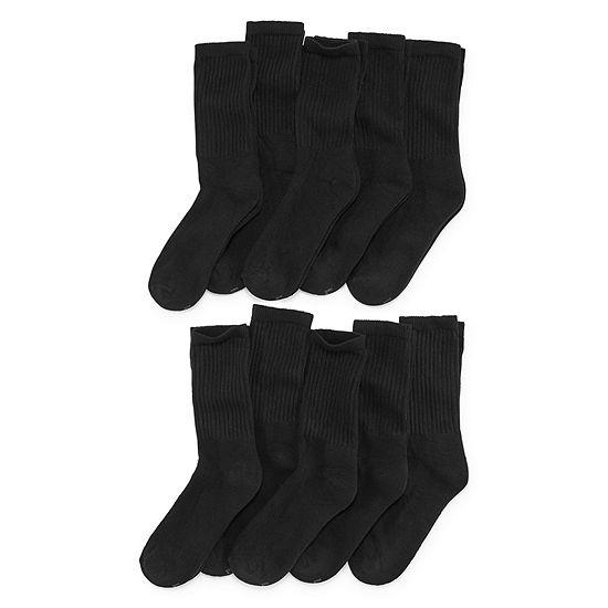 Xersion 10 Pair Crew Socks