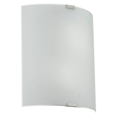 "Eglo Grafik 2-Light 13"" Chrome Wall Light"